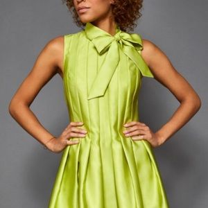 Ted Baker Doora Bow Tie Neck A-line Flare Dress